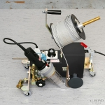 Robot sudura pardoseli TARKETT / covor PVC/ linoleum FORSTHOFF F
