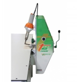 T2 EXTREME - masina de sudat bannere cu AER CALD